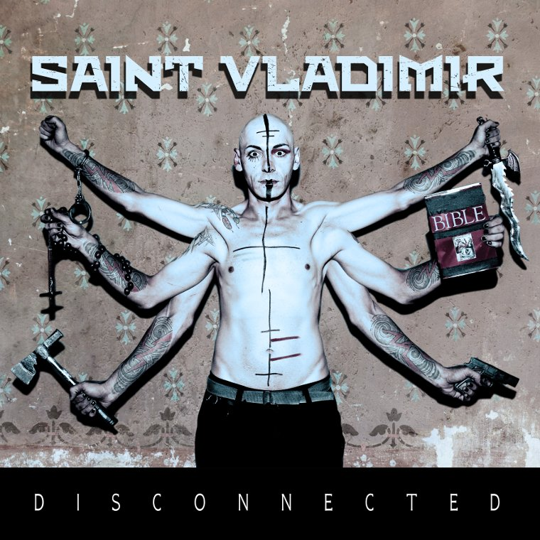 Saint Vladimir Disconnected 2015 album cover.